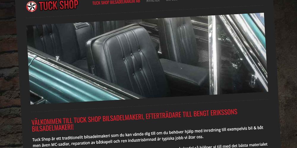 Tuckshop – Bilsadelmakare.se