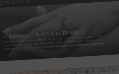 Ny webbsajt till Atelje S:t Erik